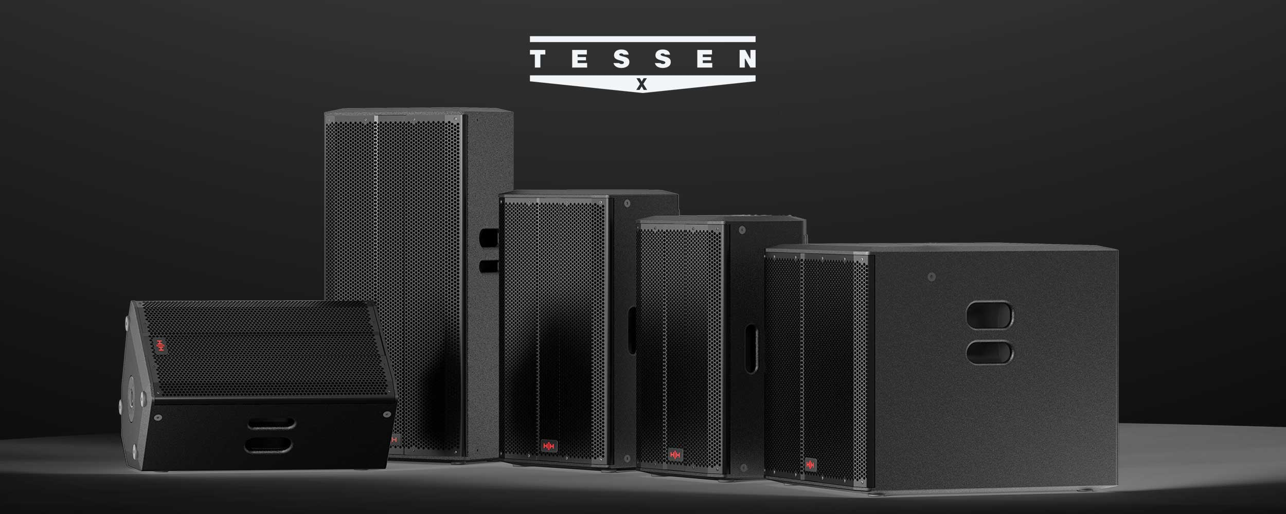 TESSEN-X ACTIVE Speaker Systems